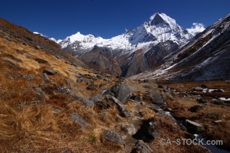 Abc annapurna sanctuary trek machapuchare valley modi khola.