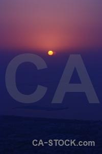 Aerial dubai sun asia sunset.