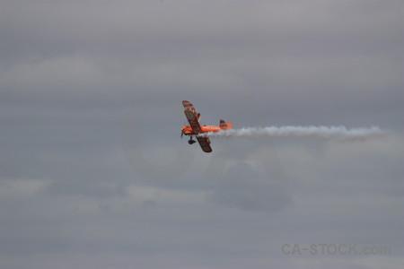 Airplane smoke gray.