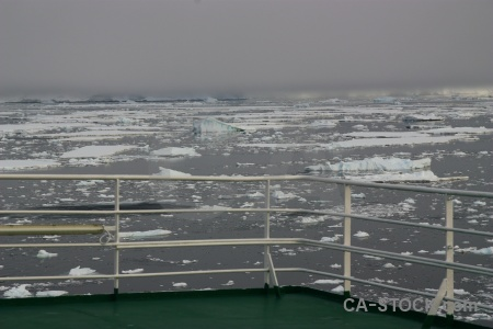 Akademik ioffe deck adelaide island south pole sky.