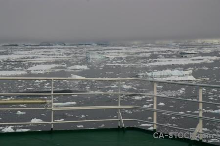 Akademik ioffe deck adelaide island south pole sky.