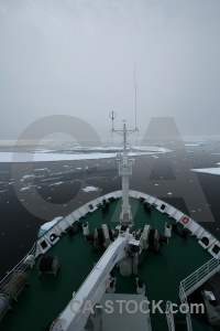 Akademik ioffe sea fog cloud south pole.