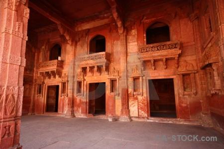 Akbar fort inside asia mughal.