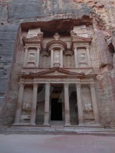 Al khazneh asia rock ancient archaeological.
