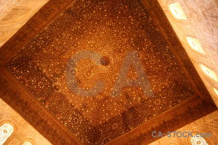 Alhambra fortress brown orange granada.