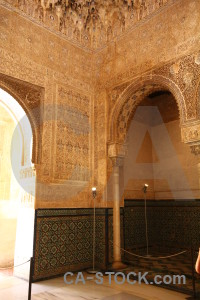 Alhambra fortress interior la alhambra de granada orange.