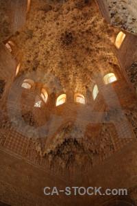 Alhambra la alhambra de granada building interior orange.