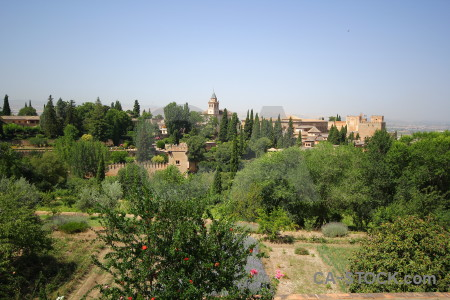 Alhambra palace park granada la alhambra de.