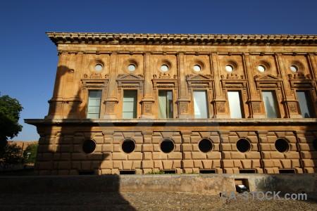 Alhambra spain europe palace granada.