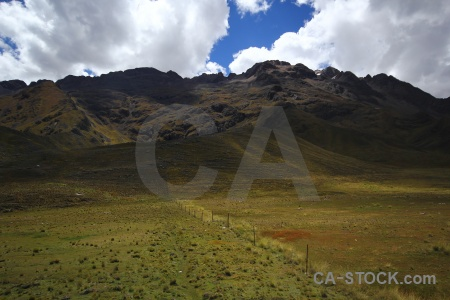 Altitude andes landscape cloud south america.