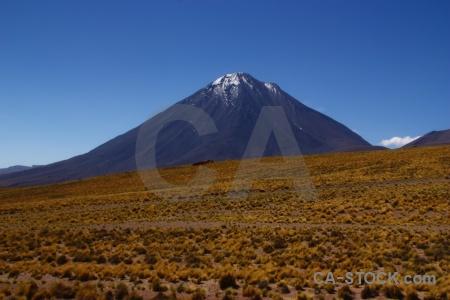Altitude andes snowcap desert licancabur.