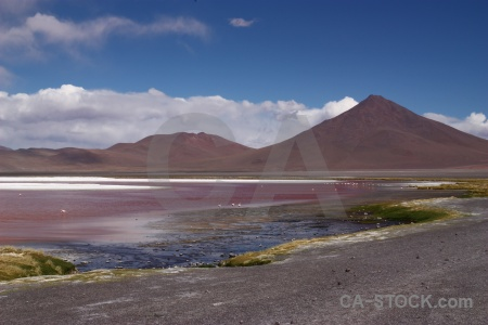 Altitude bolivia andes lake salt.
