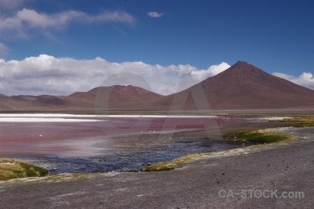 Altitude bolivia andes lake salt.