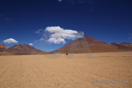 Altitude bolivia sky valle de dali south america.
