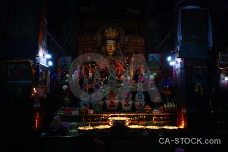 Altitude buddhist shekar gyantse kumbum monastery.