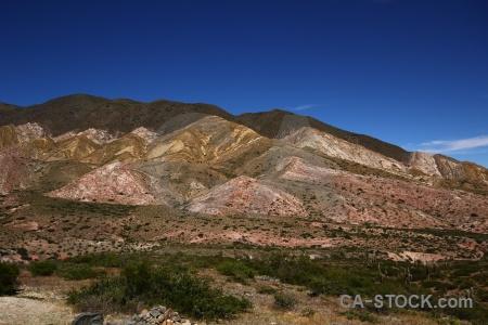 Altitude bush sky argentina landscape.