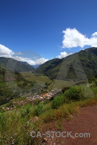 Altitude bush urubamba valley cloud sky.