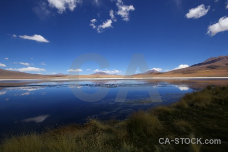 Altitude cloud south america sky reflection.
