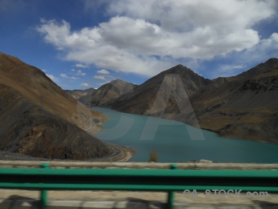 Altitude dam water himalayan china.