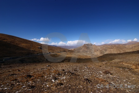 Altitude east asia friendship highway china tibet.