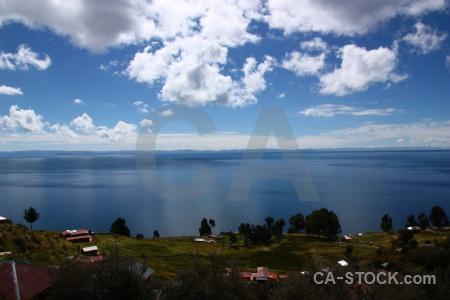 Altitude lake titicaca puno peru sky.
