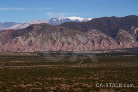 Altitude landscape argentina snow nevado de cachi.