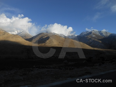 Altitude mountain himalayan sky asia.