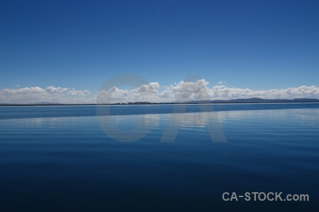 Altitude reflection water landscape puno.