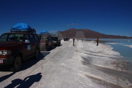 Altitude salar de uyuni sky salt bolivia.