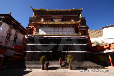 Altitude sky east asia shigatse china.