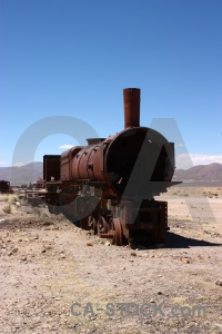 Altitude wreck south america train rust.