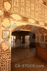Amer palace fort south asia tile.
