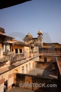 Amer south asia india amber fort palace.