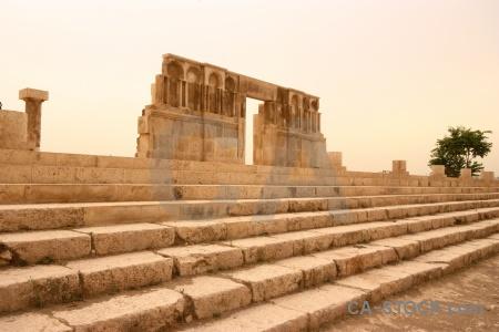 Amman block jordan roman stone.