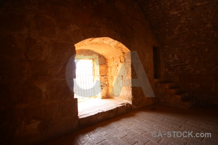 Ancient inside historic middle east jordan.