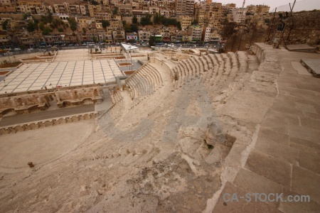Ancient theatre middle east amphitheatre archaeological.