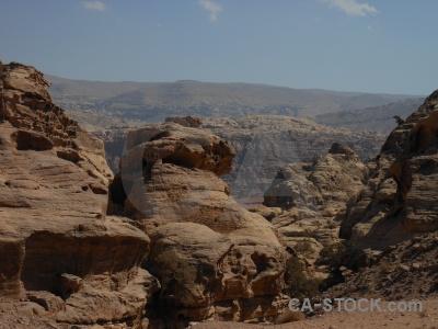 Ancient unesco cliff western asia petra.