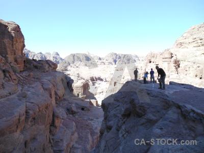 Ancient unesco nabataeans jordan rock.