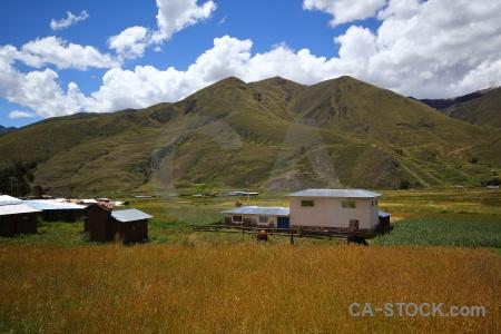 Andean explorer andes building crops sky.