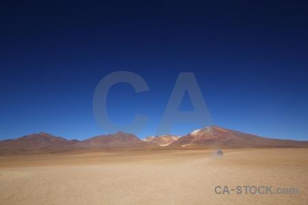 Andes altitude siloli desert landscape sky.