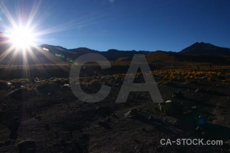 Andes atacama desert landscape sky chile.
