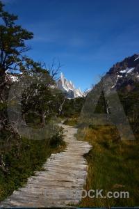 Andes cerro torre senda a laguna sky landscape.