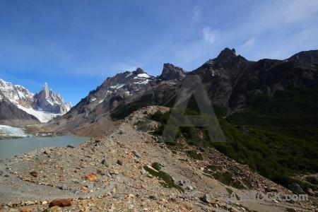 Andes glacier el chalten ice southern patagonian field.