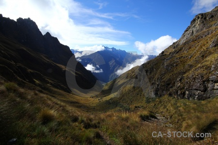 Andes inca trail peru sky mountain.