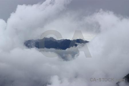 Andes inca trail sayaqmrka cloud.