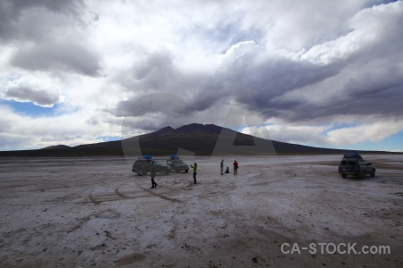 Andes landscape altitude bolivia south america.