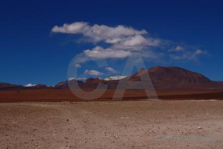 Andes landscape bolivia south america sky.