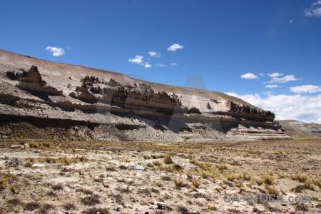 Andes landscape imata stone forest crucero alto grass.