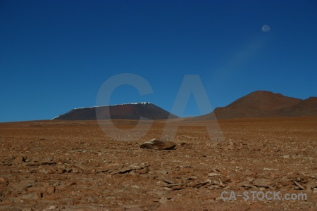Andes moon altitude bolivia mountain.