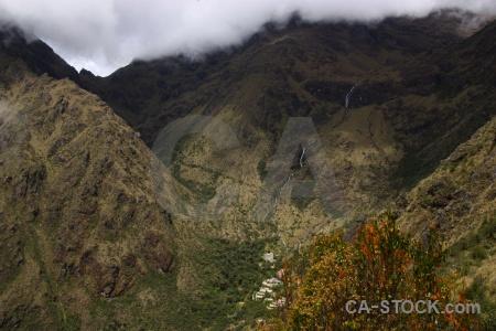 Andes mountain cloud altitude peru.